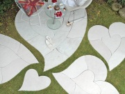Organicstone - Stoneislands - Heart Maxi - Concrete Paving Feature Kit 2