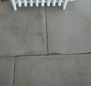Organicstone - Atelier - Antique Georgian Limestone -  Smooth Interior Flagstones - Engineered Stone Flooring