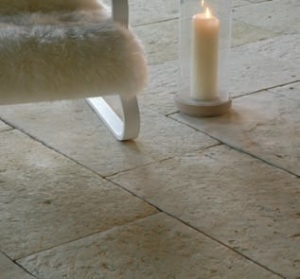 Organicstone - Atelier - Divine - Antique Cotswold Limestone - Golden Ratio Flagstones - Engineered Stone Flooring