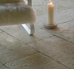 Organicstone - Atelier - Divine - Antique Cotswold Limestone - Golden Ratio Flagstones - Engineered Stone Flooring