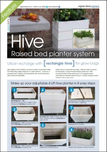 Organicstone Beehive Magazine Page 4