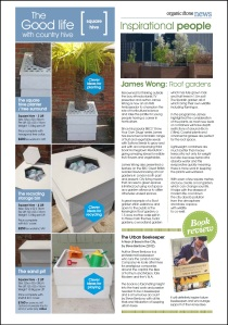Organicstone Beehive Magazine Page 5