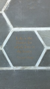 Organicstone - RHS Chelsea 2014 Honeycomb Pathway & Beehive Pic10