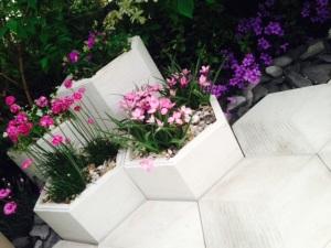 Organicstone - RHS Chelsea 2014 Honeycomb Pathway & Beehive Pic3