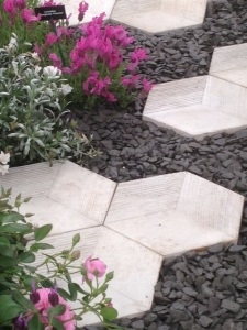 Organicstone - RHS Chelsea 2014 Honeycomb Pathway & Beehive Pic5