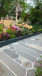 Organicstone - RHS Chelsea 2014 Honeycomb Pathway & Beehive Pic8